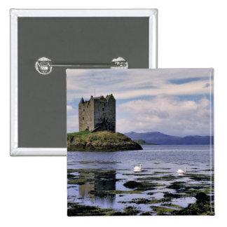 Scotland Highland Wester Ross Stalker Pinback Button