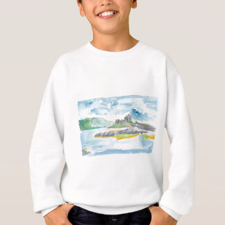 Scotland Highlands Fantasy and Eilean Donan Castle Sweatshirt