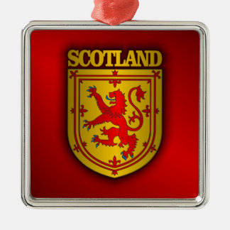 Scotland Lesser Arms Metal Ornament