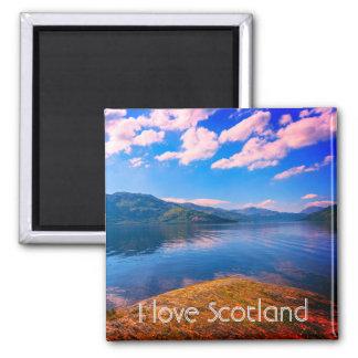 Scotland, Loch Lomond, fridge magnet