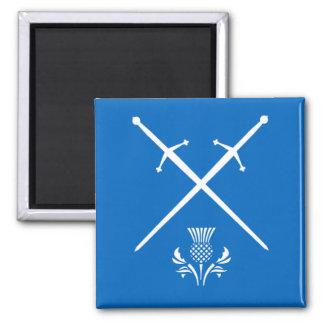 Scotland Magnet - Swords & Thistle