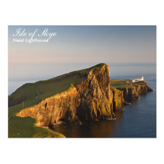 Scotland - Neist lighthouse postcard