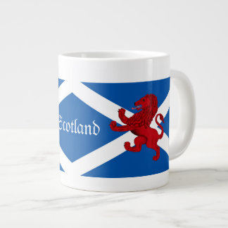 Scotland Rampant ancient Lion/St. Andrews flag Large Coffee Mug