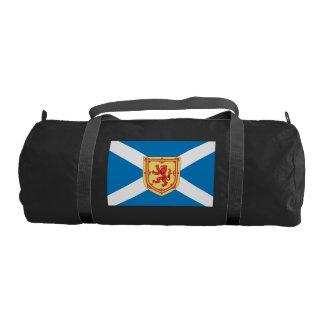 Scotland Royal Arms Flag Pattern Gym Duffel Bag