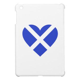 Scotland/Scottish flag-inspired Hearts iPad Mini Cover