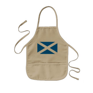 Scotland Scottish Flag Kids Apron
