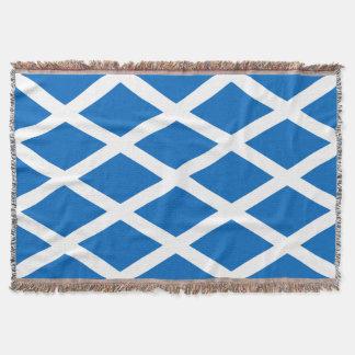 Scotland Scottish Flag Throw Blanket