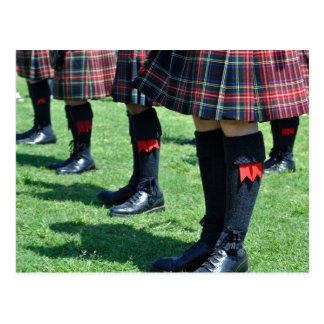 Scotland Scottish Kilt Postcard