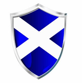 Scotland Shield Standing Photo Sculpture