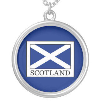 Scotland Silver Plated Necklace