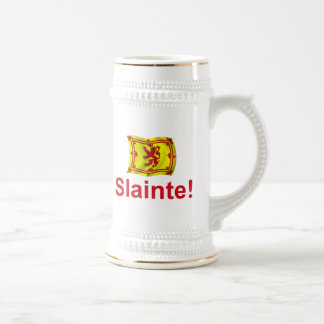 Scotland Slainte! Beer Stein
