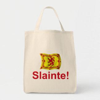 Scotland Slainte! Grocery Tote Bag