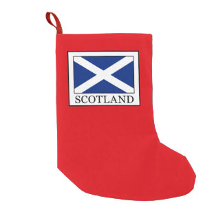 Scotland Small Christmas Stocking