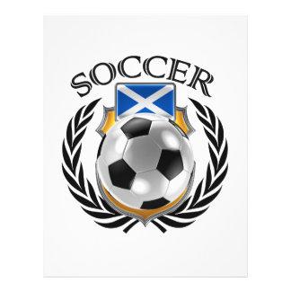 Scotland Soccer 2016 Fan Gear 21.5 Cm X 28 Cm Flyer