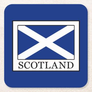Scotland Square Paper Coaster