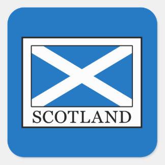 Scotland Square Sticker