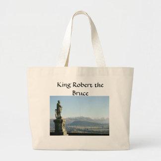 Scotland Stirling King Robert the Bruce Jumbo Tote Bag