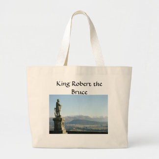 Scotland Stirling King Robert the Bruce Tote Bags