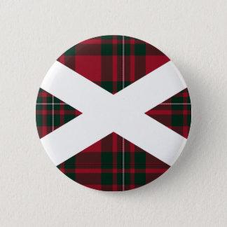 Scotland Tartan Badge