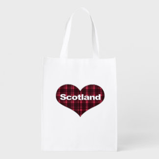 Scotland Tartan Heart