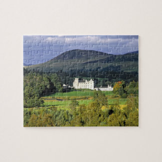 Scotland, Tayside, Blair Castle. In an emerald Jigsaw Puzzle