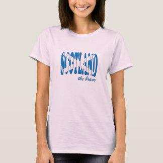 Scotland The Brave T Shirt