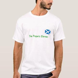 SCOTLAND, The Pope's Eleven T-Shirt