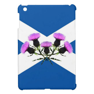 Scotland, Thistle flower andrews  flag iPad Mini Case