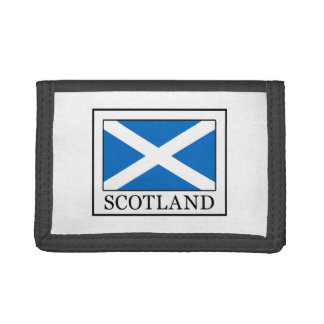 Scotland Trifold Wallets