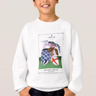 scotland v england balls, tony fernandes sweatshirt