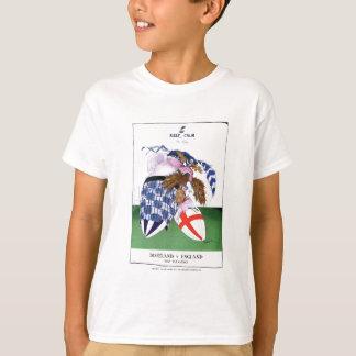 scotland v england balls, tony fernandes T-Shirt