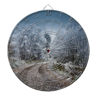 Scotland Winter Time Dartboard