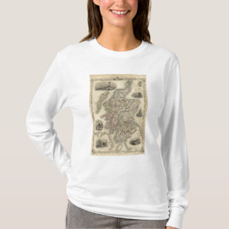 Scotland with inset map of the Shetland Islands T-Shirt