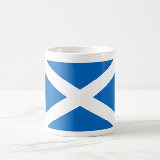 Scotland World Flag Basic White Mug
