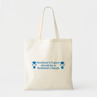 Scotland's Future Scottish Independence Tote Bag