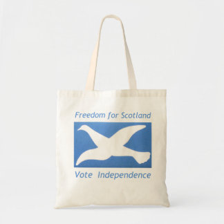 Scotland's Independence ~ show your support 2014! Budget Tote Bag