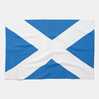 Scotland's Saltire,Scottish Flag (Official Colour) Tea Towel