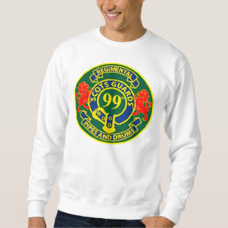 Scots Guards Regimental Pipes and Drums Sweatshirt
