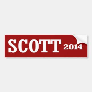 SCOTT 2014 BUMPER STICKERS