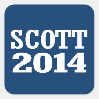 SCOTT 2014 SQUARE STICKERS