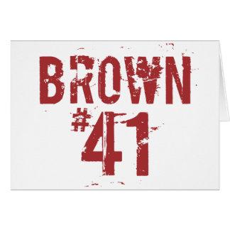 Scott BROWN #41 Card