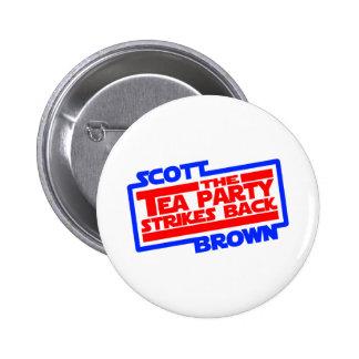 Scott Brown A New Hope 6 Cm Round Badge