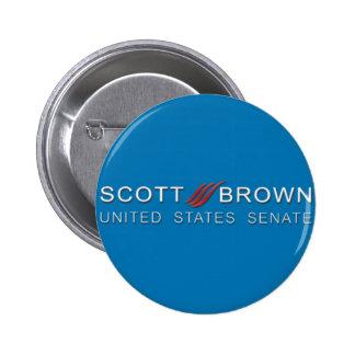 scott brown campaign button