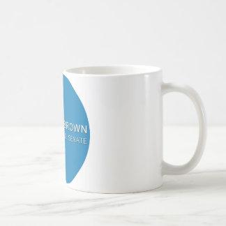 scott brown campaign button coffee mug