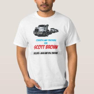 Scott Brown for truckers T-Shirt