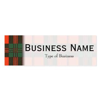 Scott clan Plaid Scottish tartan Pack Of Skinny Business Cards