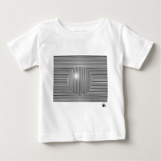 Scott E. Morris Optical Illusion Baby T-Shirt