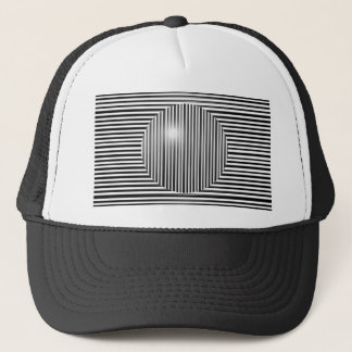 Scott E. Morris Optical Illusion Trucker Hat