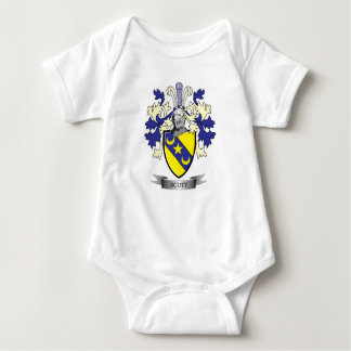 Scott Family Crest Coat of Arms Baby Bodysuit