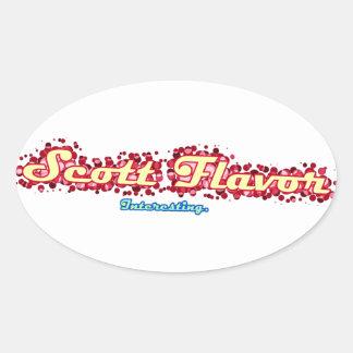 Scott Flavor: Interesting Sticker